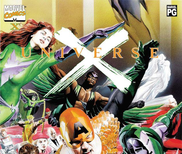 UNIVERSE X (2000) #X