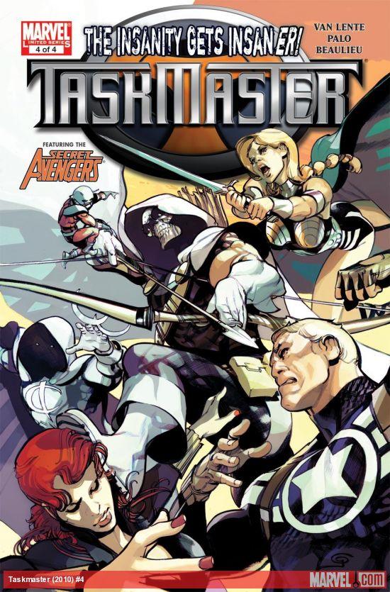 Taskmaster (2010) #4