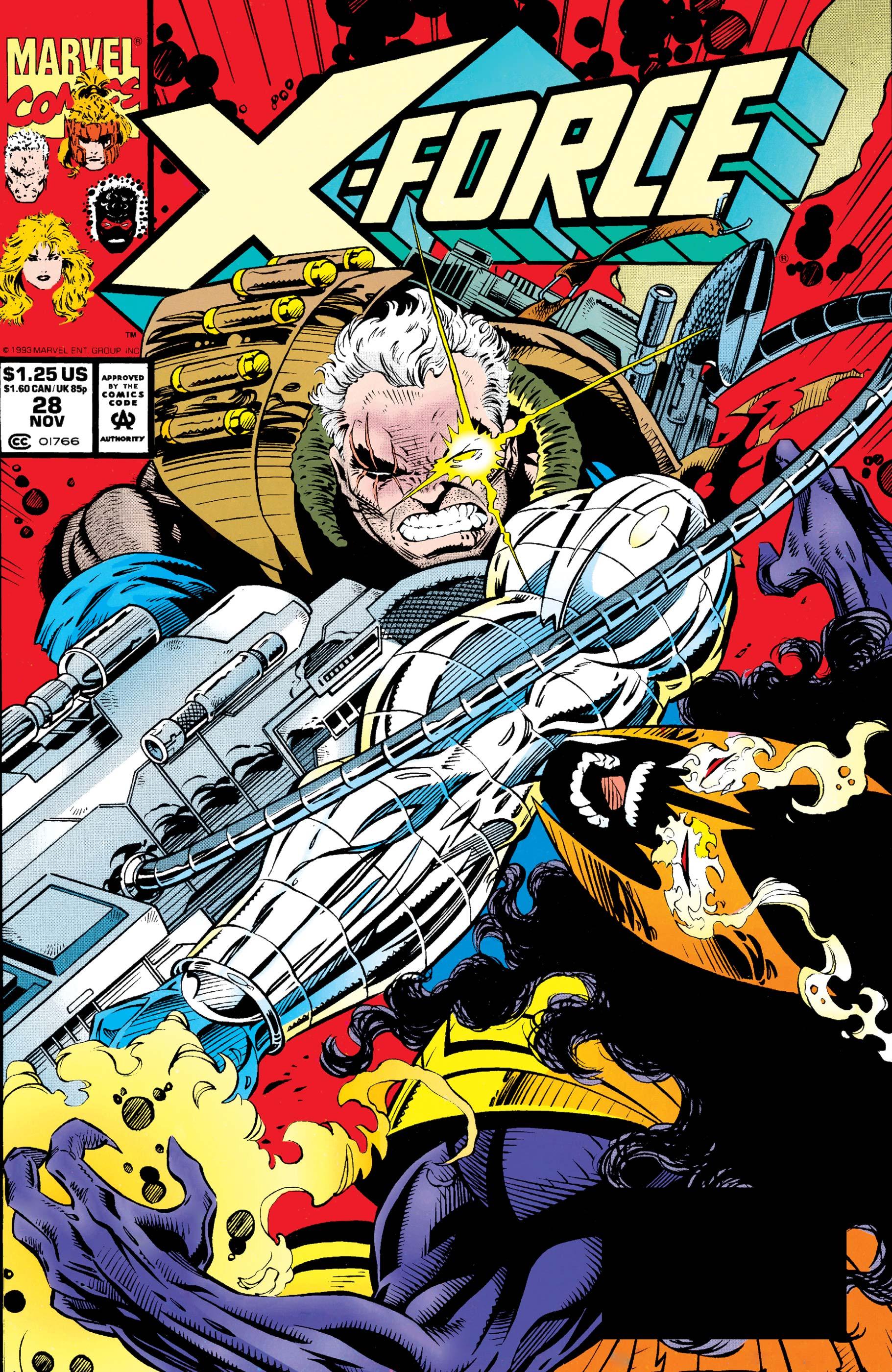 X-Force (1991) #28