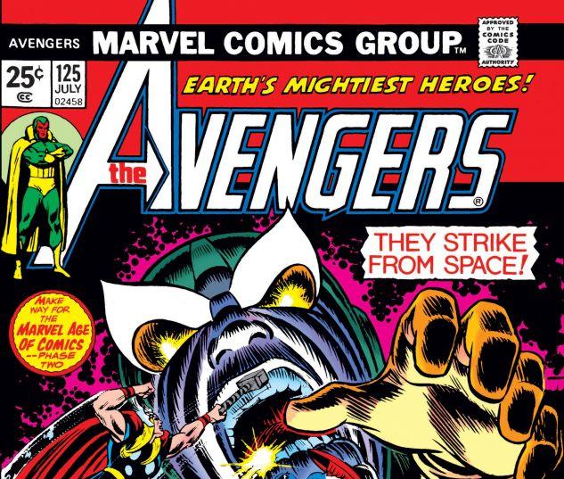 AVENGERS (1963) #125