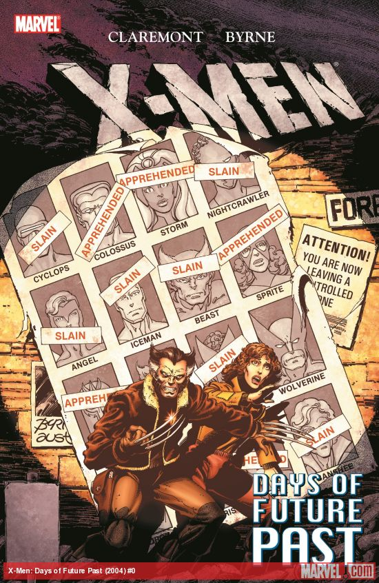 X-Men: Days of Future Past (Trade Paperback)