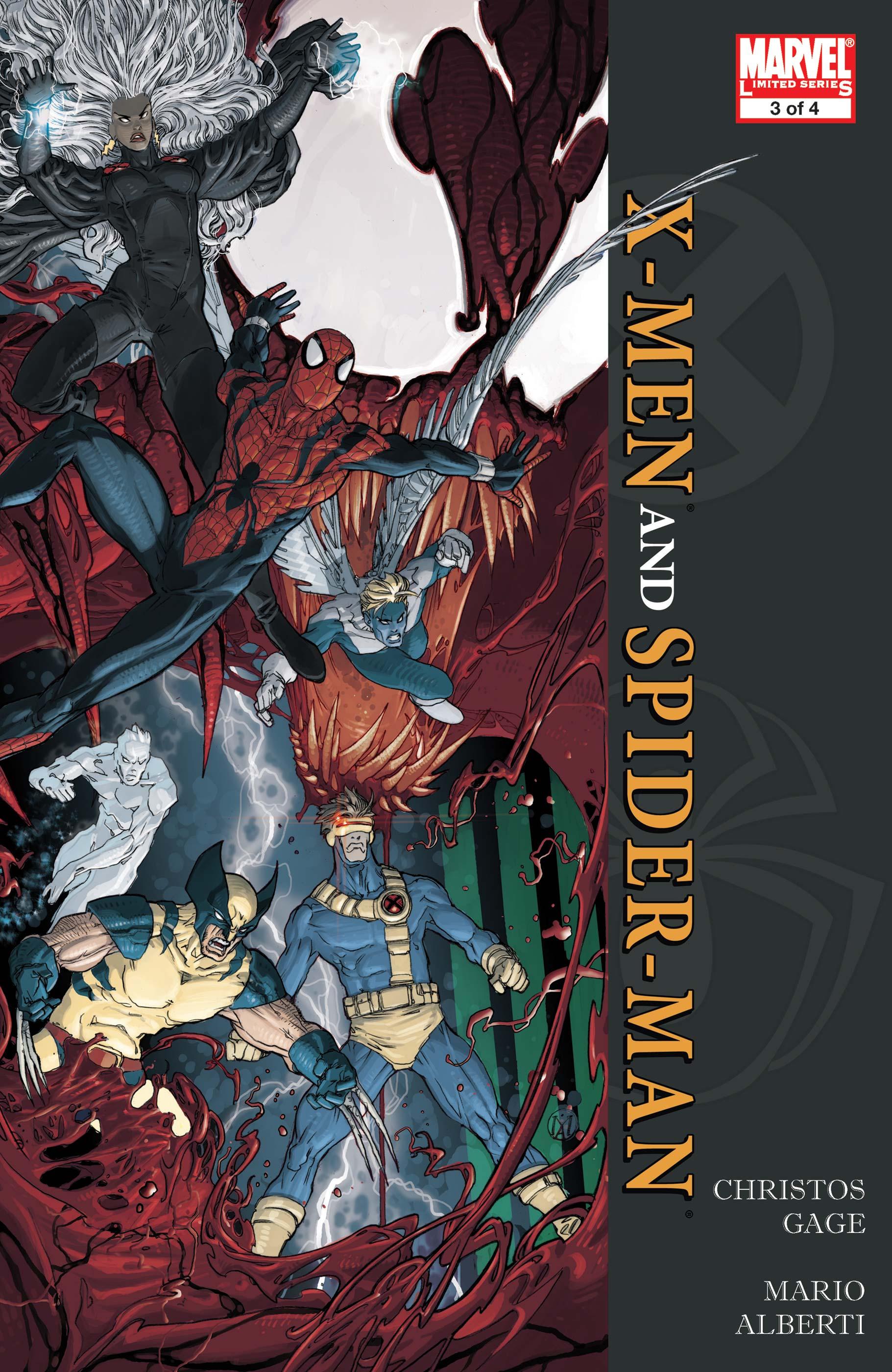 X-Men/Spider-Man (2008) #3