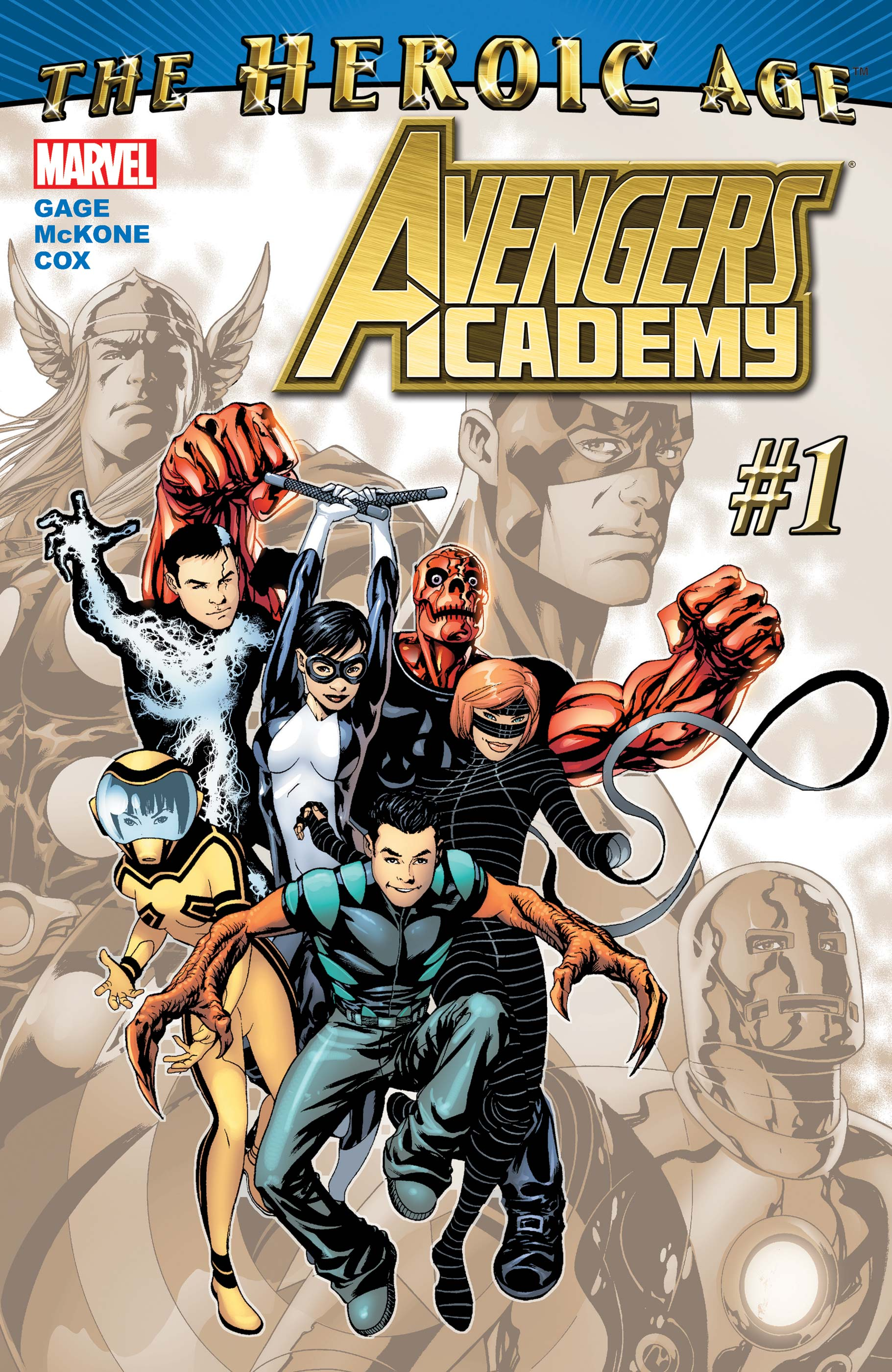 Avengers Academy (2010) #1
