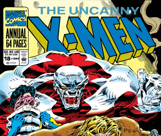 cover to Uncanny X-Men Annual (1992) #18