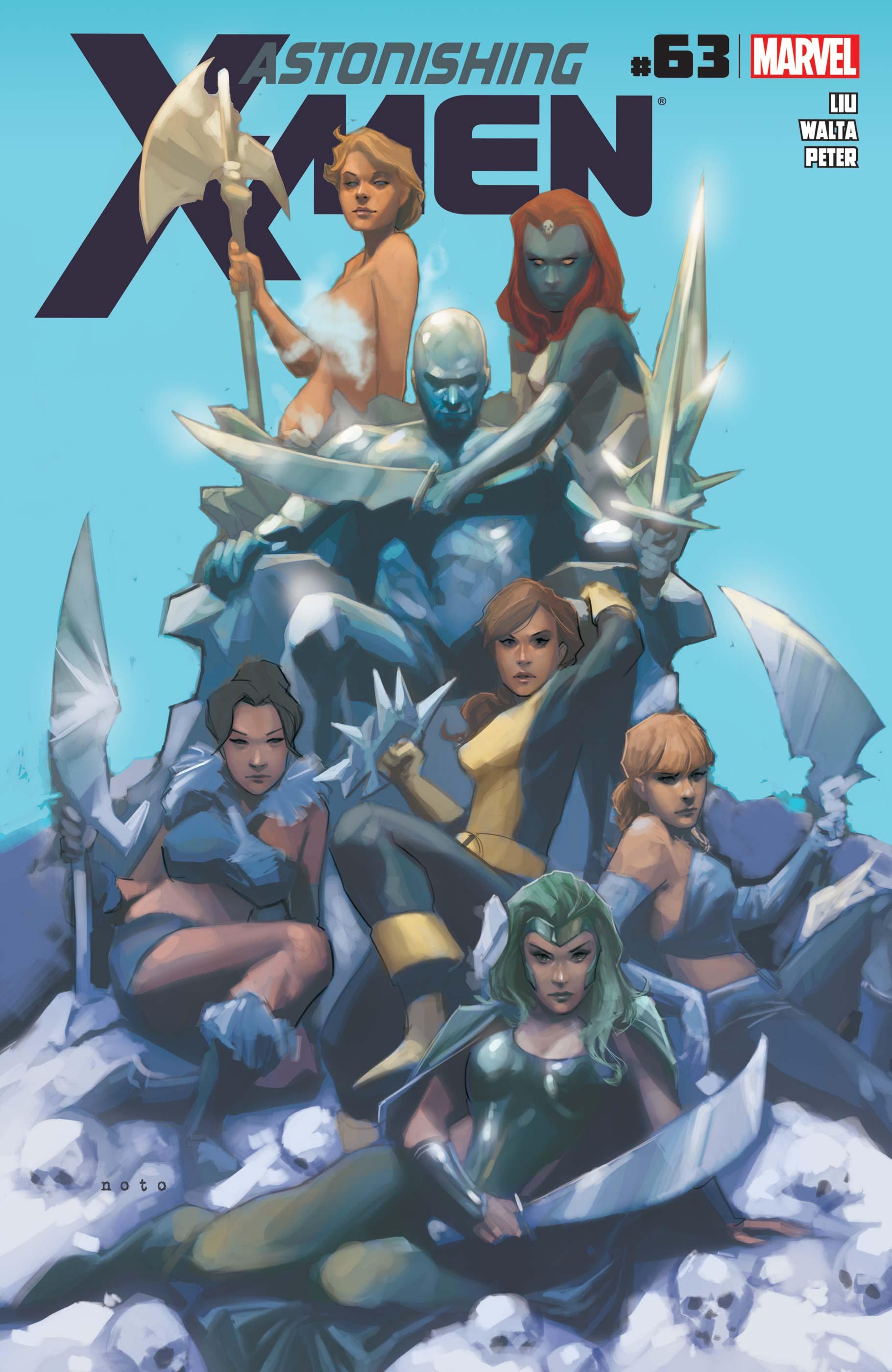 Astonishing X-Men (2004) #63