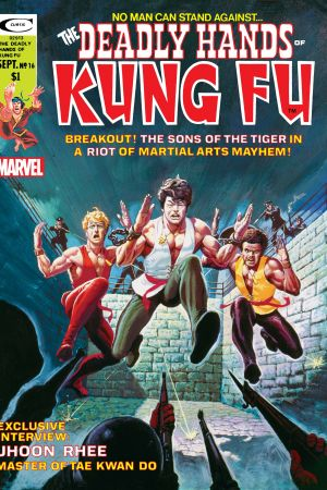 Deadly Hands of Kung Fu #16