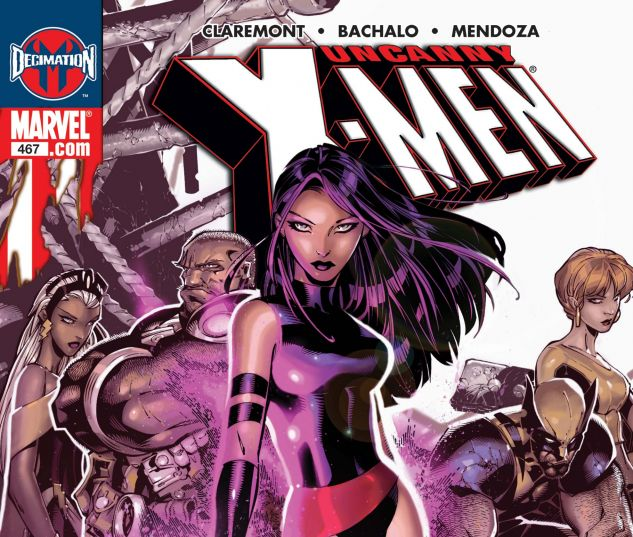 Uncanny X-Men (1963) #467
