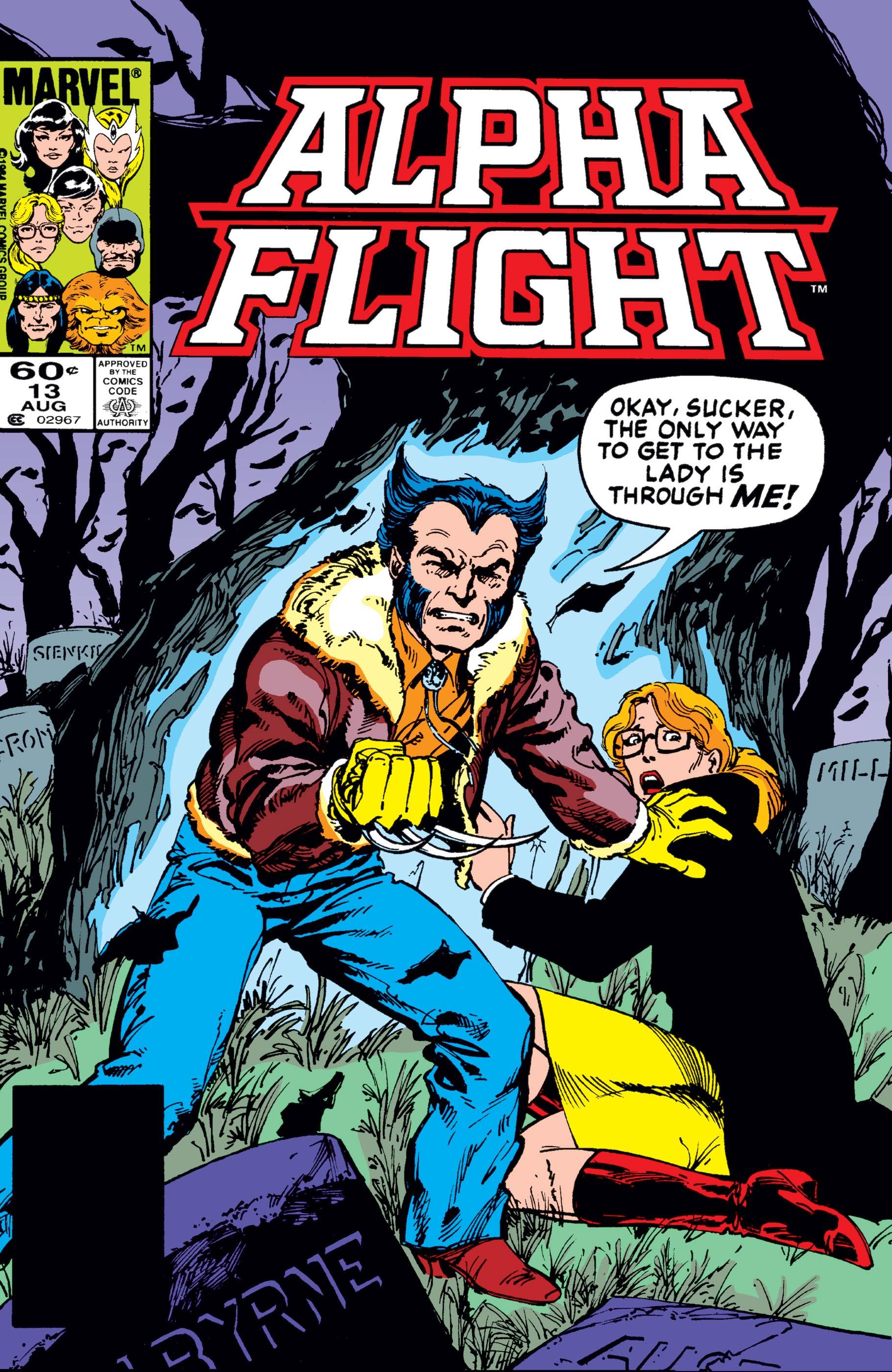 Alpha Flight (1983) #13