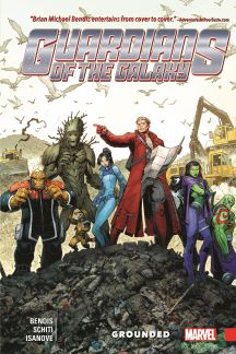 Guardians of the Galaxy: New Guard Vol. 4 - Grounded (Hardcover)