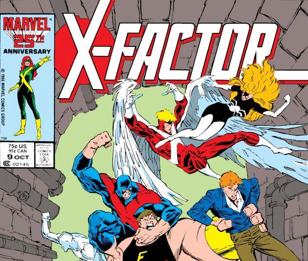 X-FACTOR (1986) #9