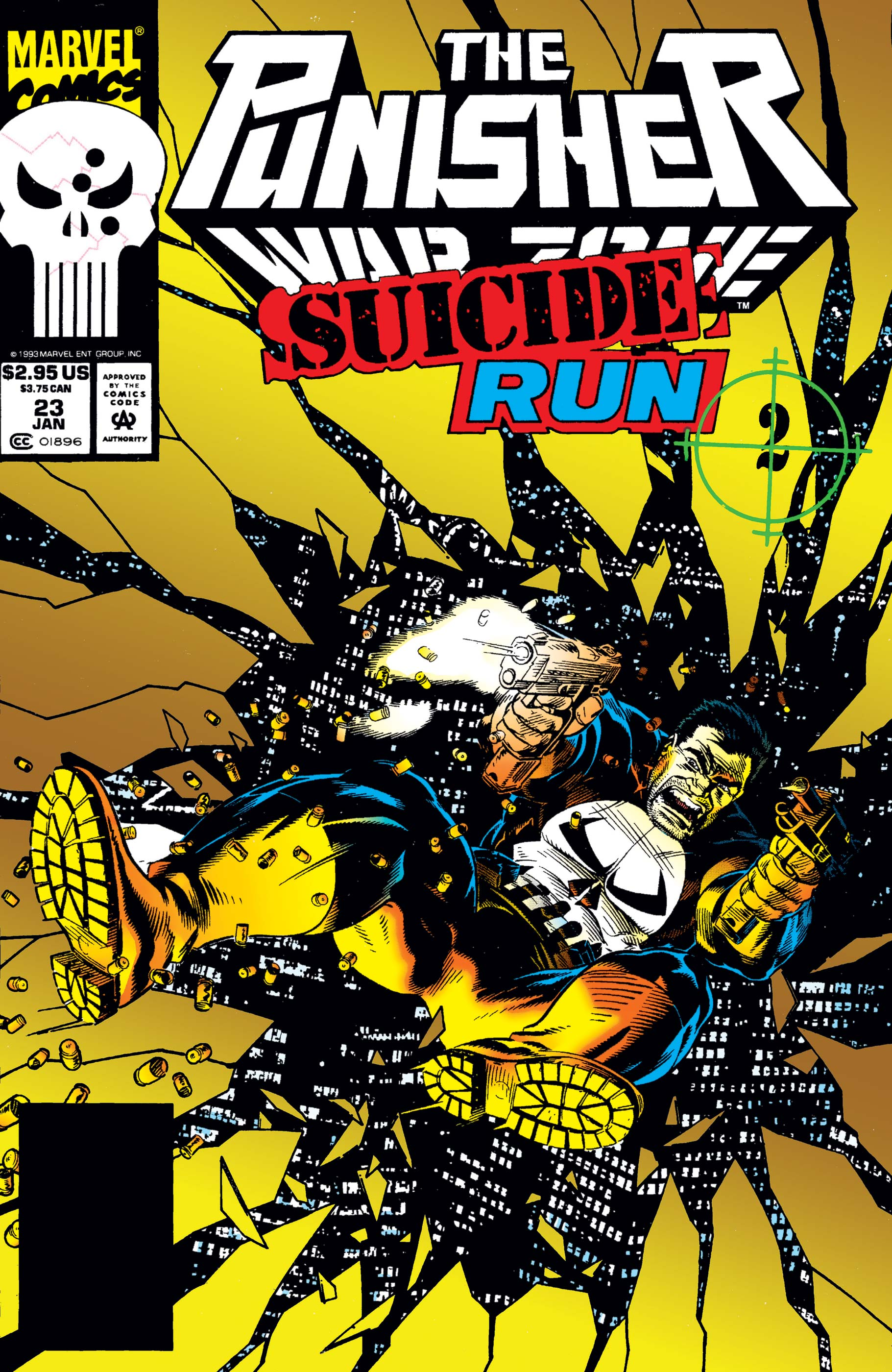 The Punisher War Zone (1992) #23