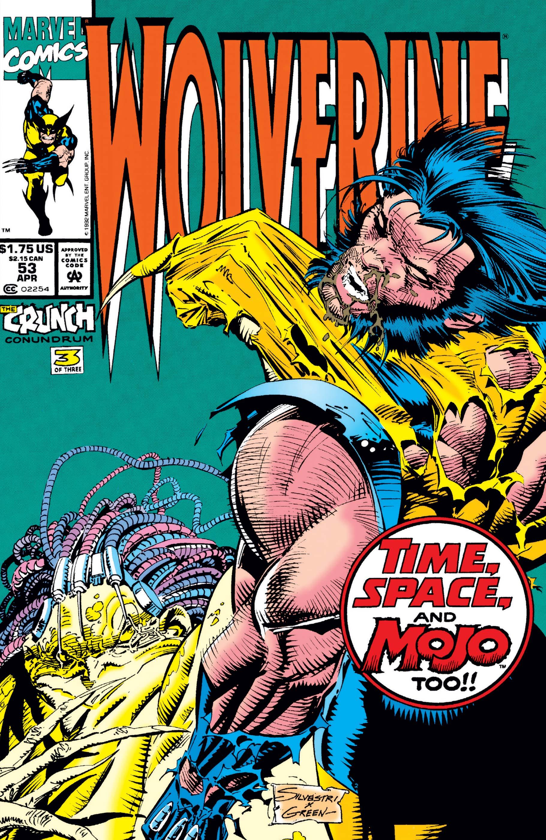 Wolverine (1988) #53