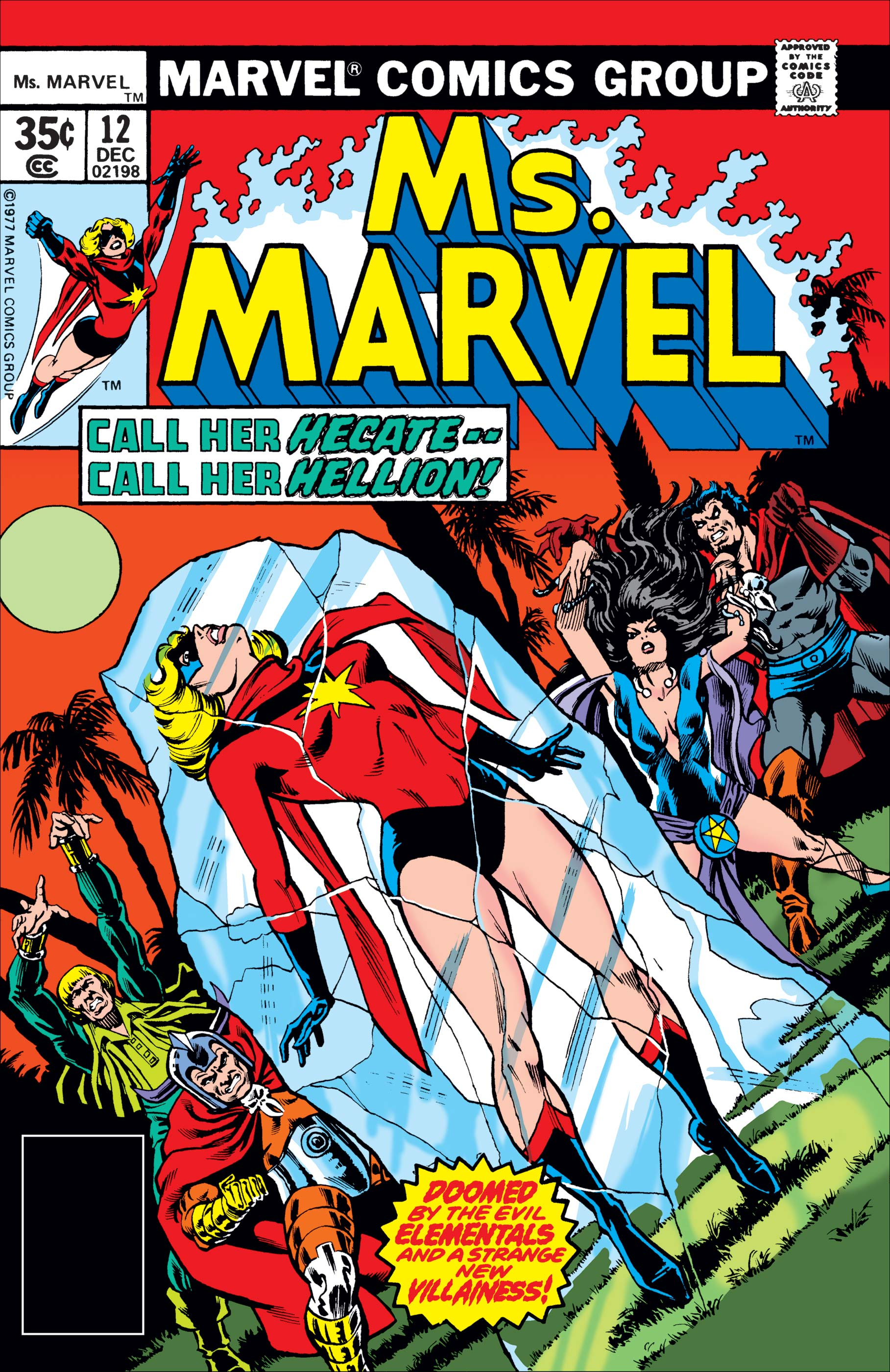 Ms. Marvel (1977) #12