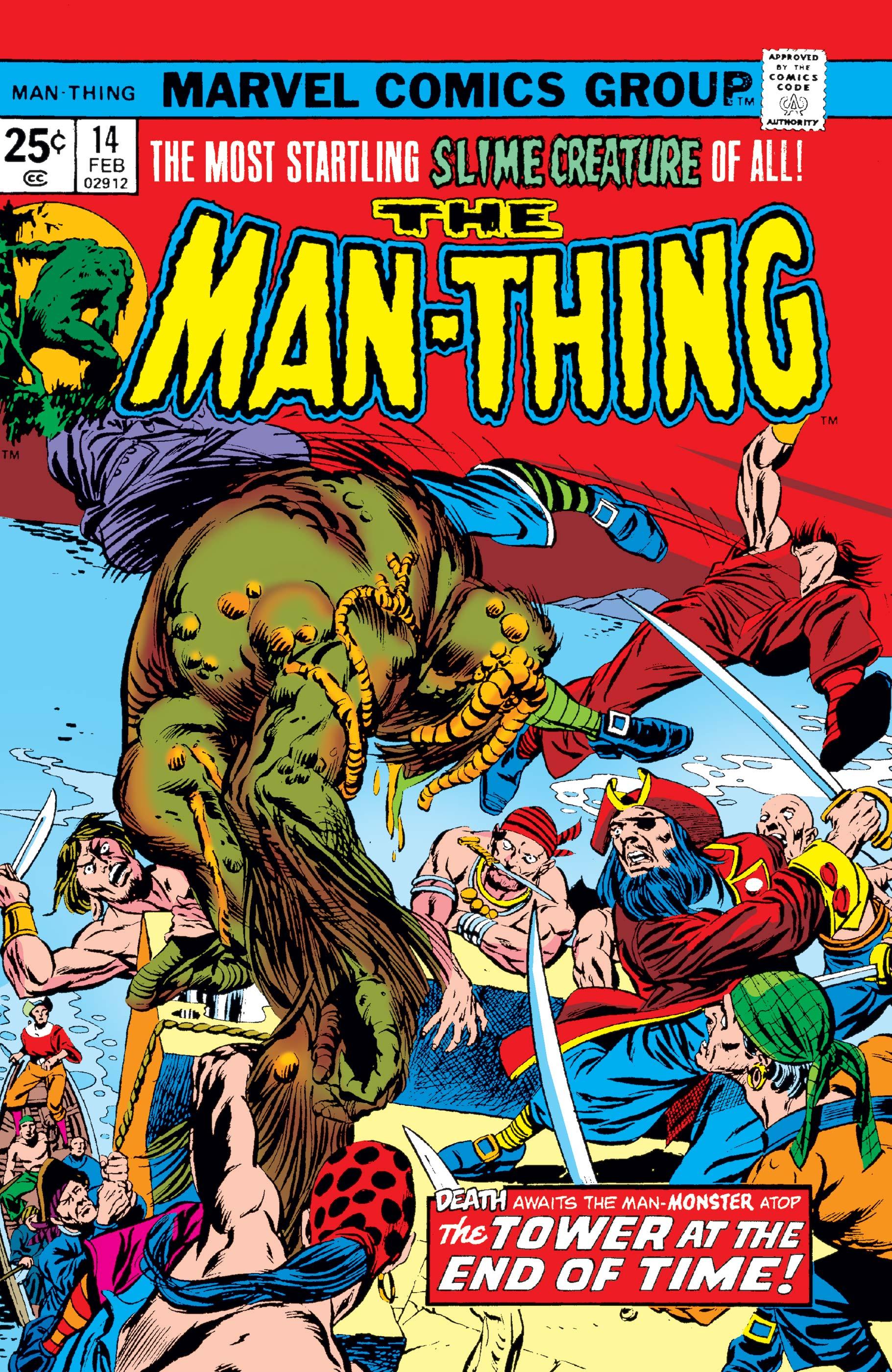 Man-Thing (1974) #14