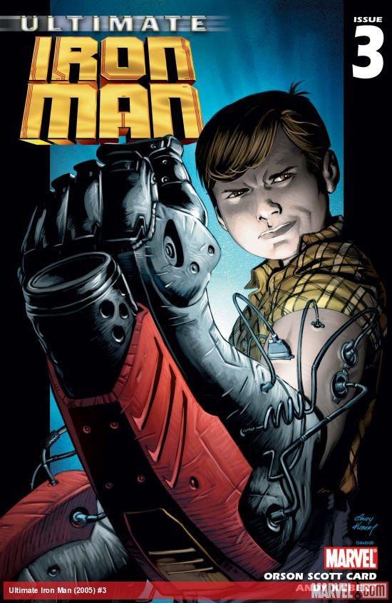Ultimate Iron Man (2005) #3