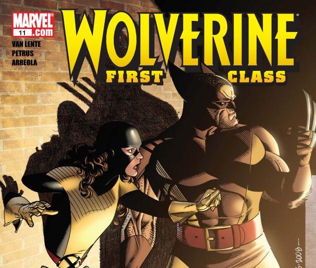 WOLVERINE: FIRST CLASS (2008) #11