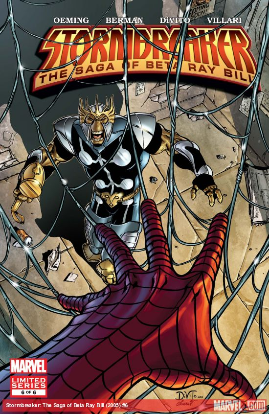 Stormbreaker: The Saga of Beta Ray Bill (2005) #6