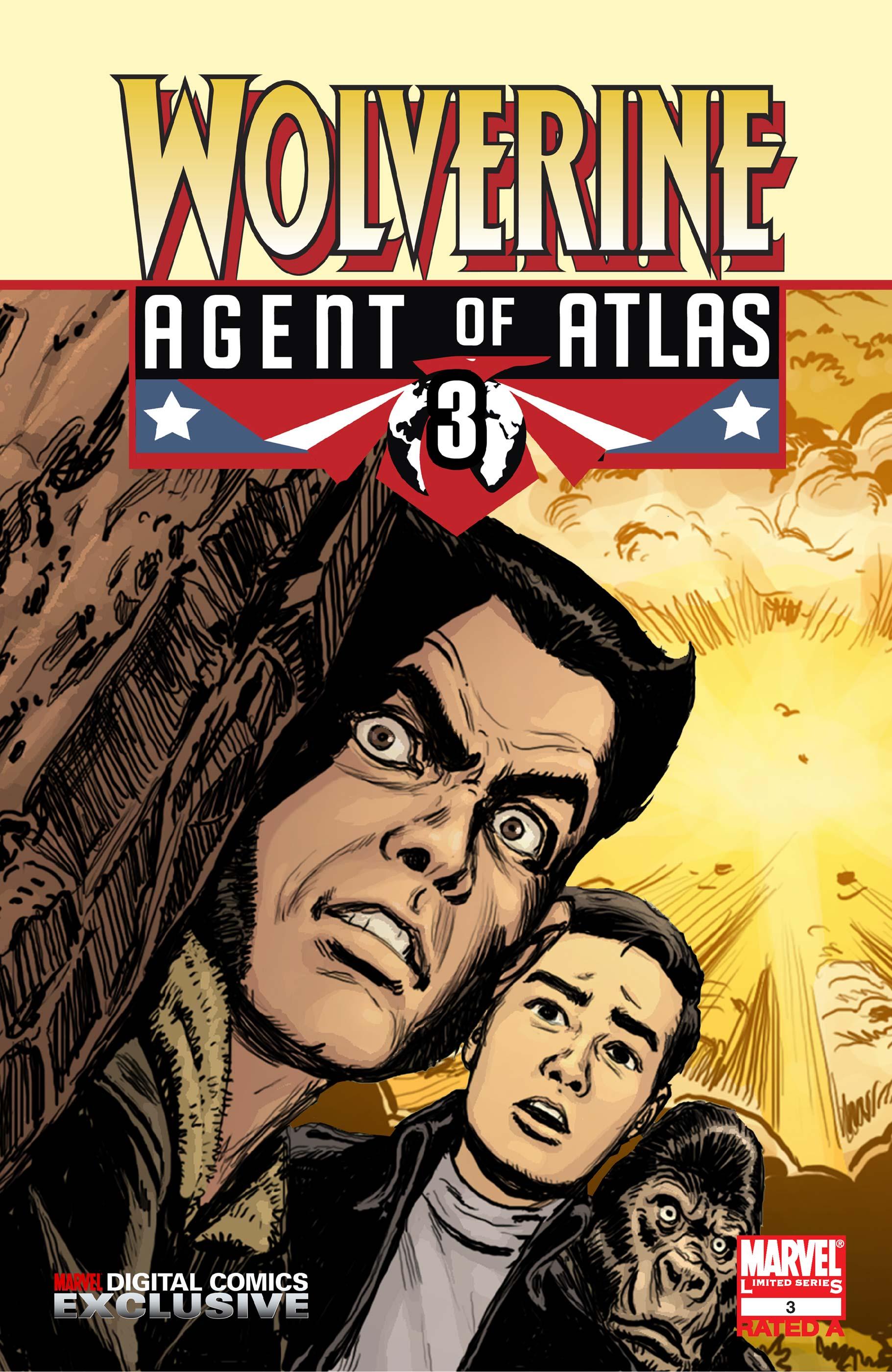Wolverine: Agent of Atlas (2008) #3