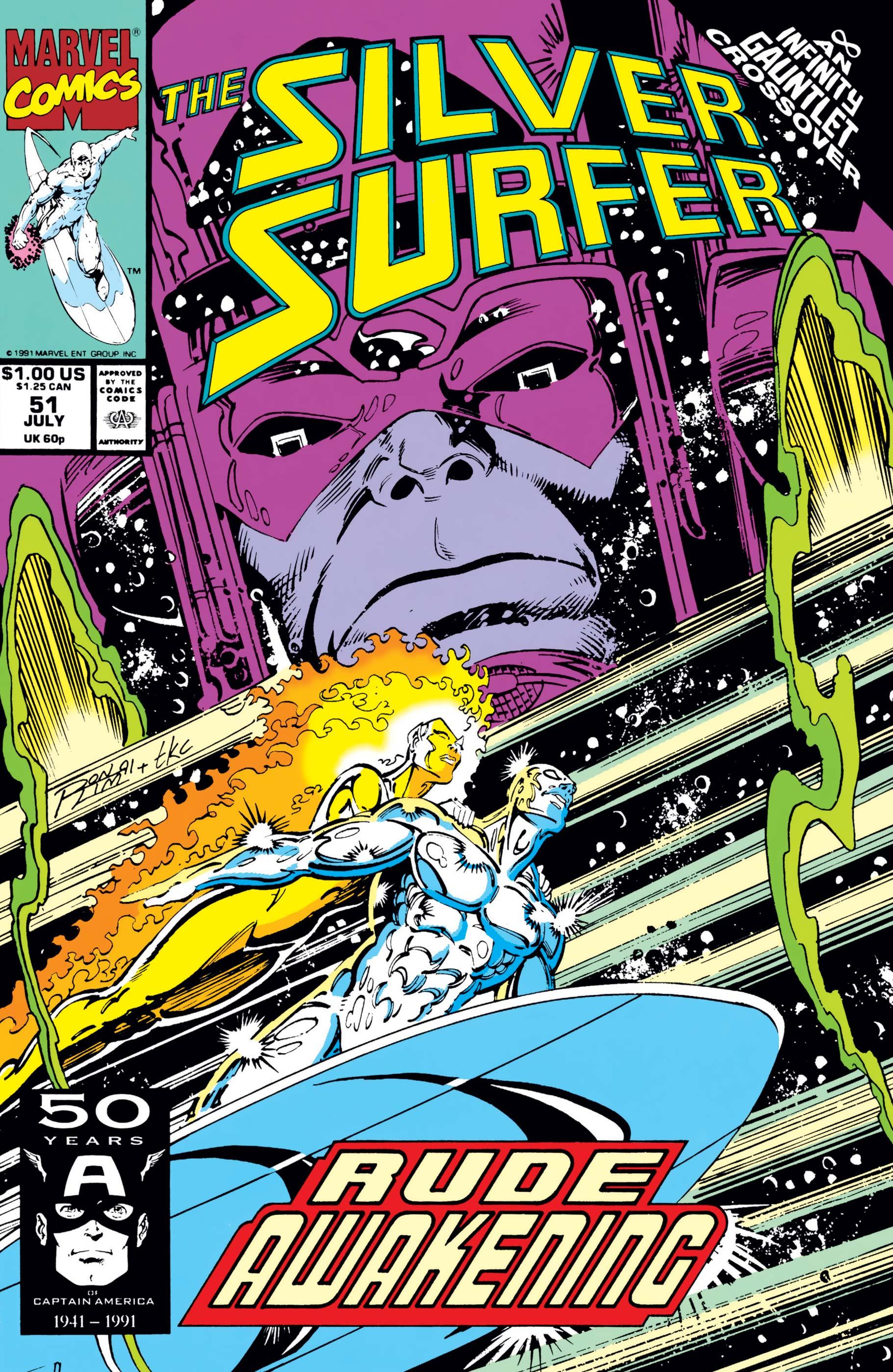 Silver Surfer (1987) #51