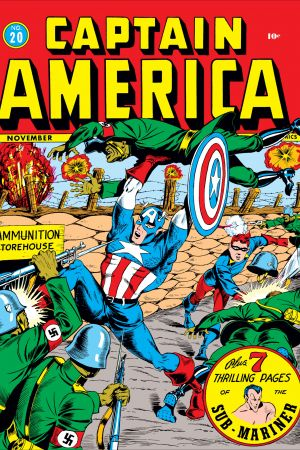 Captain America Comics #20