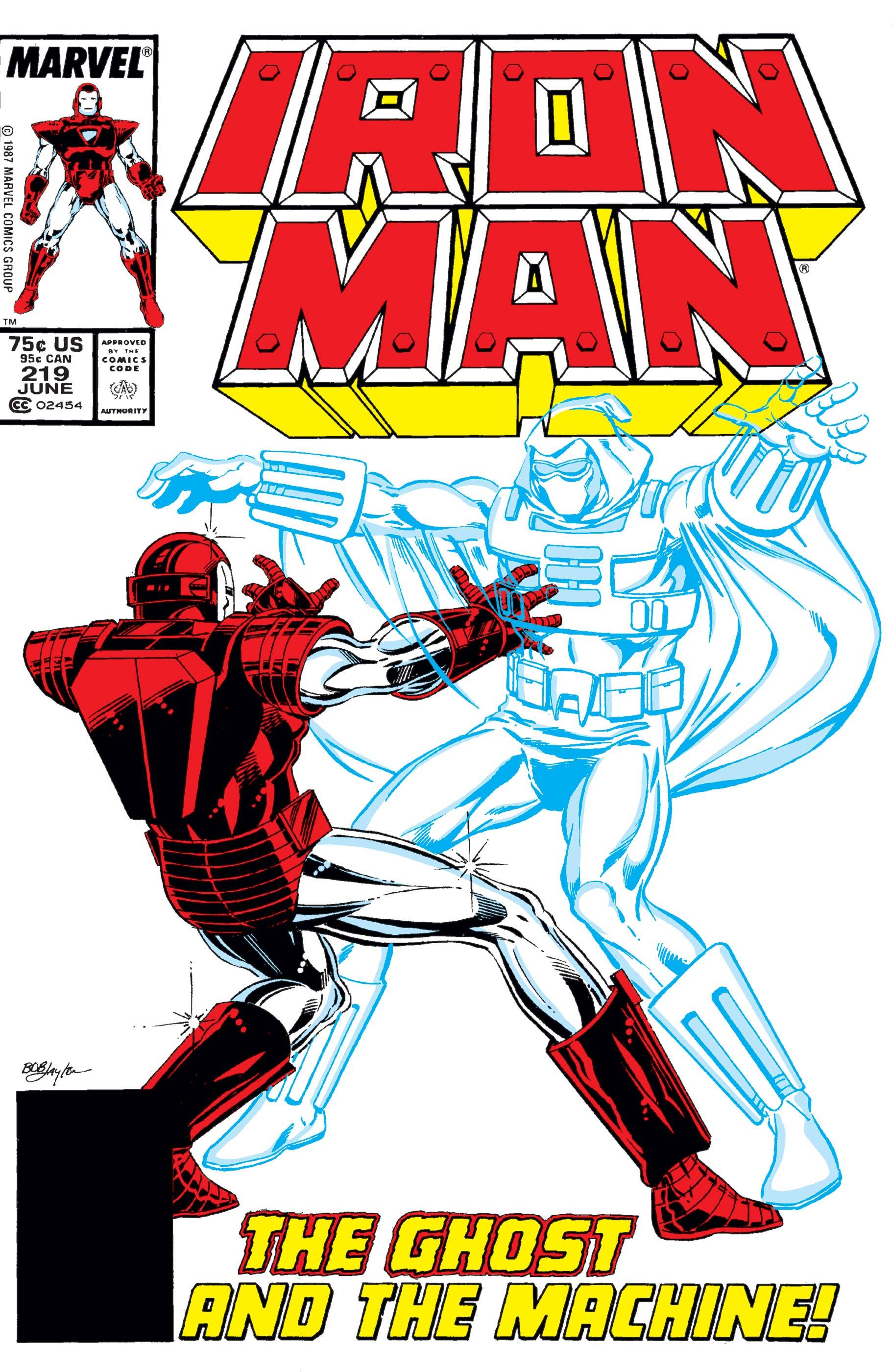 Iron Man (1968) #219