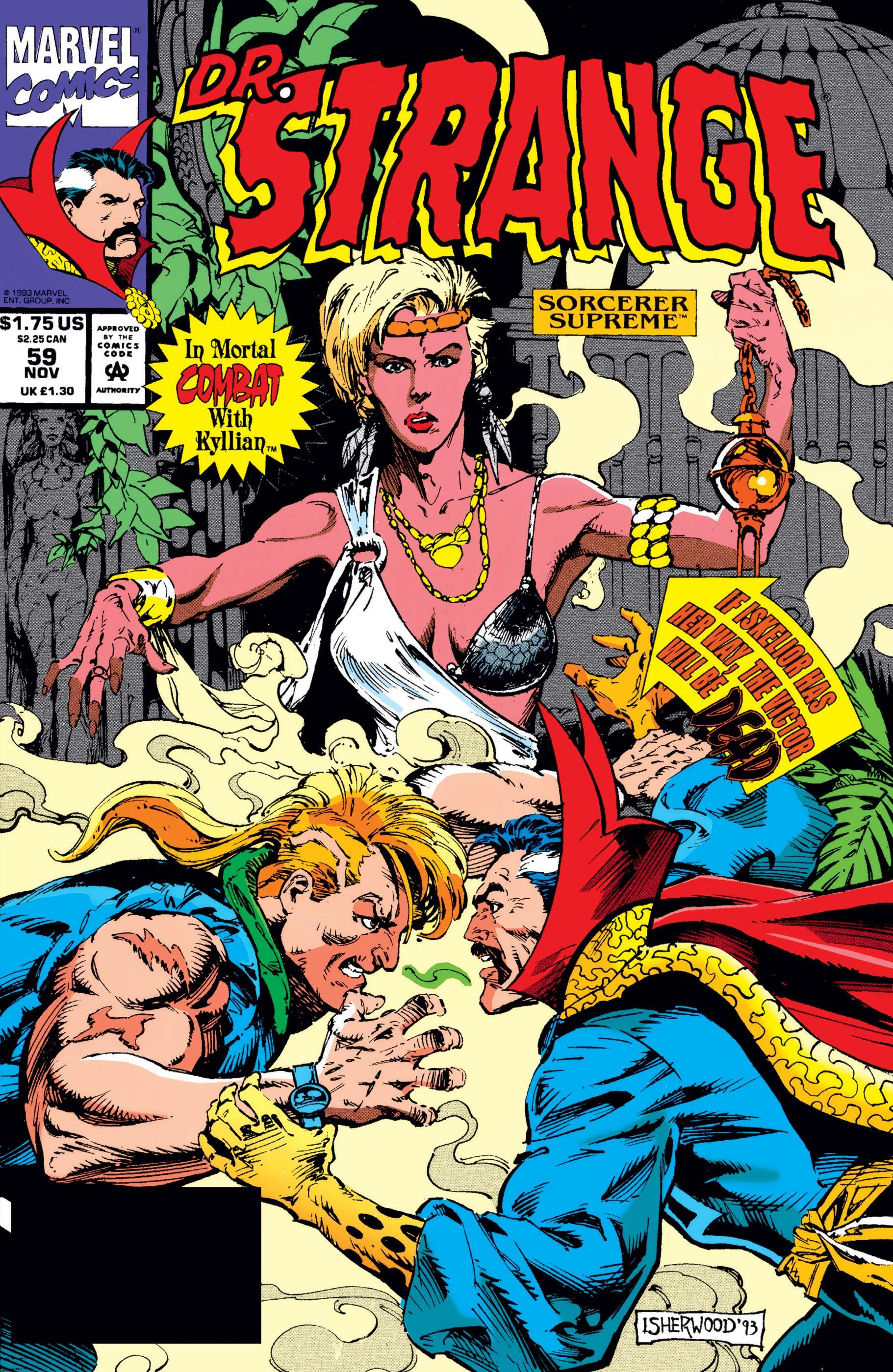 1993 Geof Isherwood Doctor Strange Sorcerer Supreme No.58