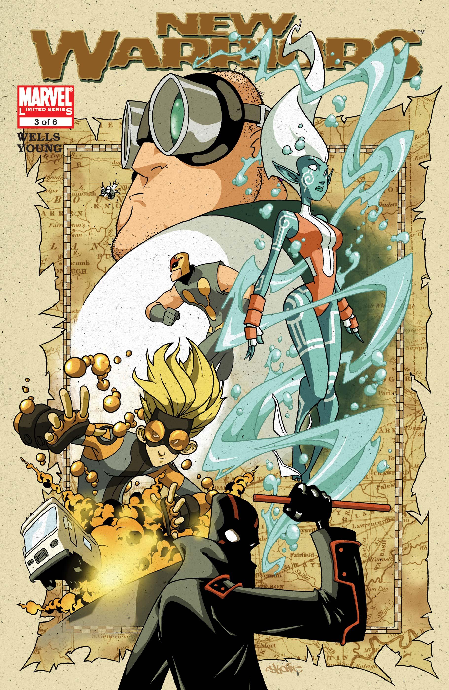 New Warriors (2005) #3