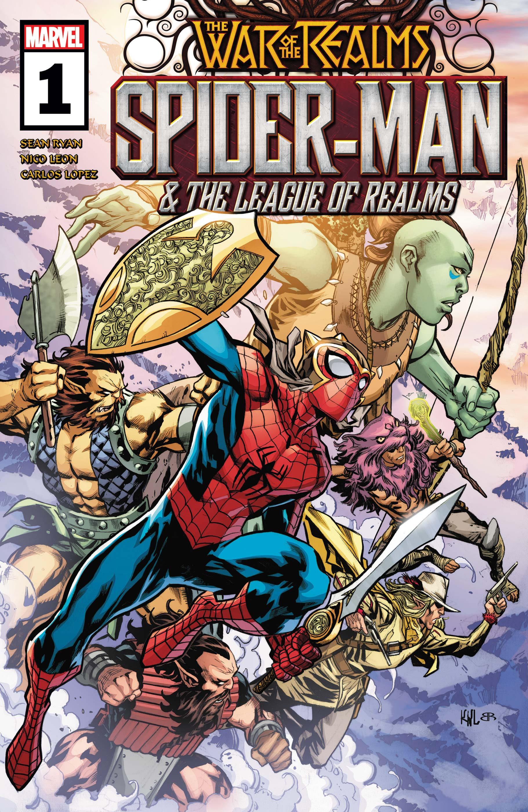 Spider-Man & the League of Realms (2019) #1