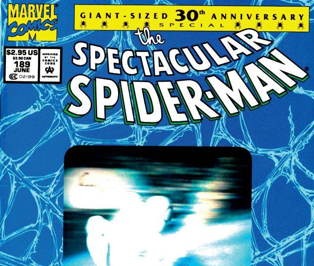 PETER PARKER, THE SPECTACULAR SPIDER-MAN (1976) #189