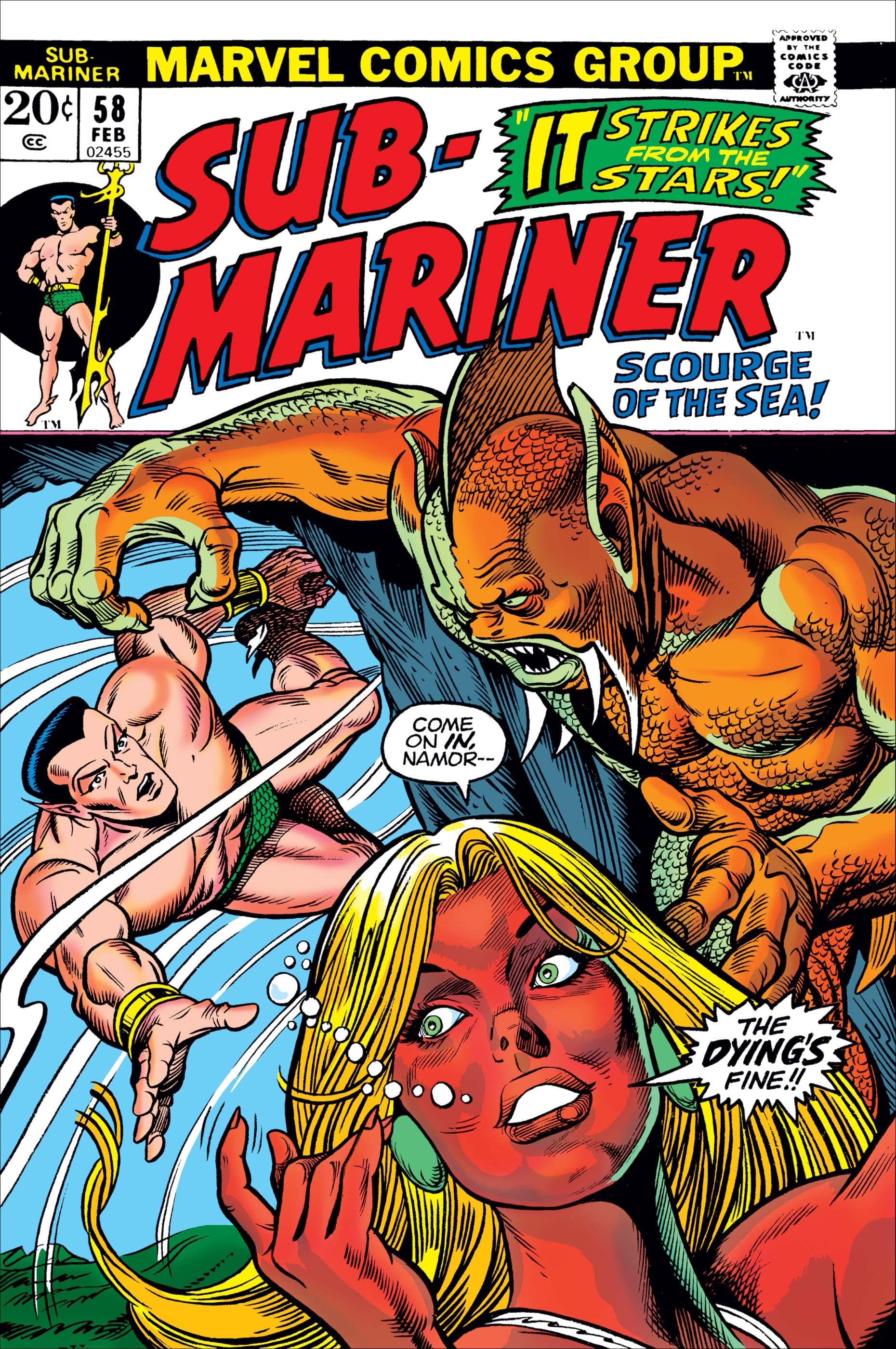 Sub-Mariner (1968) #58