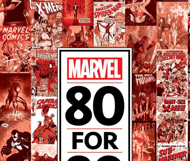 MARVEL 80 FOR 80 HC #1