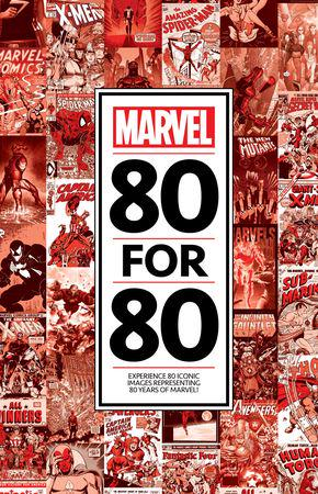 Marvel 80 For 80 (Hardcover)