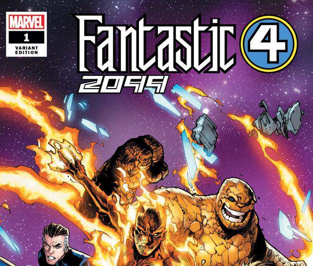 FANTASTIC FOUR 2099 1 RAMOS VARIANT #1