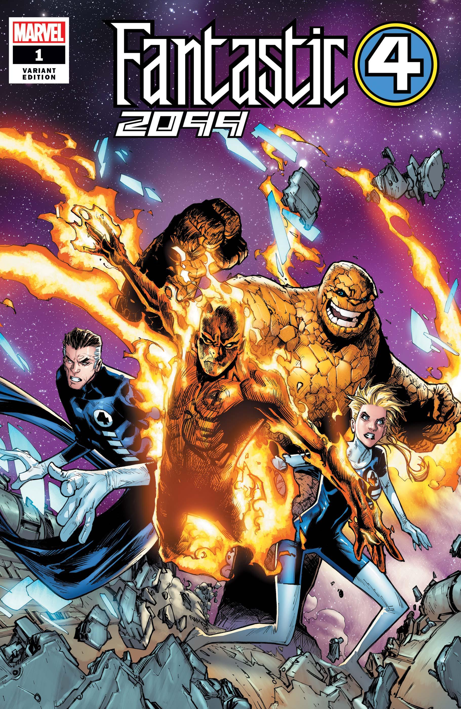 Fantastic Four 2099 (2019) #1 (Variant)