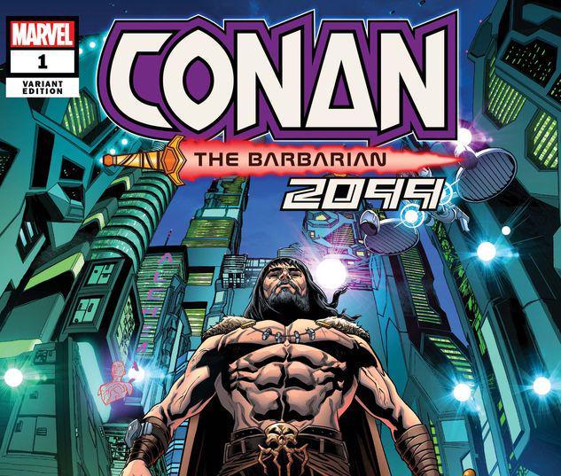 CONAN 2099 1 SLINEY VARIANT #1
