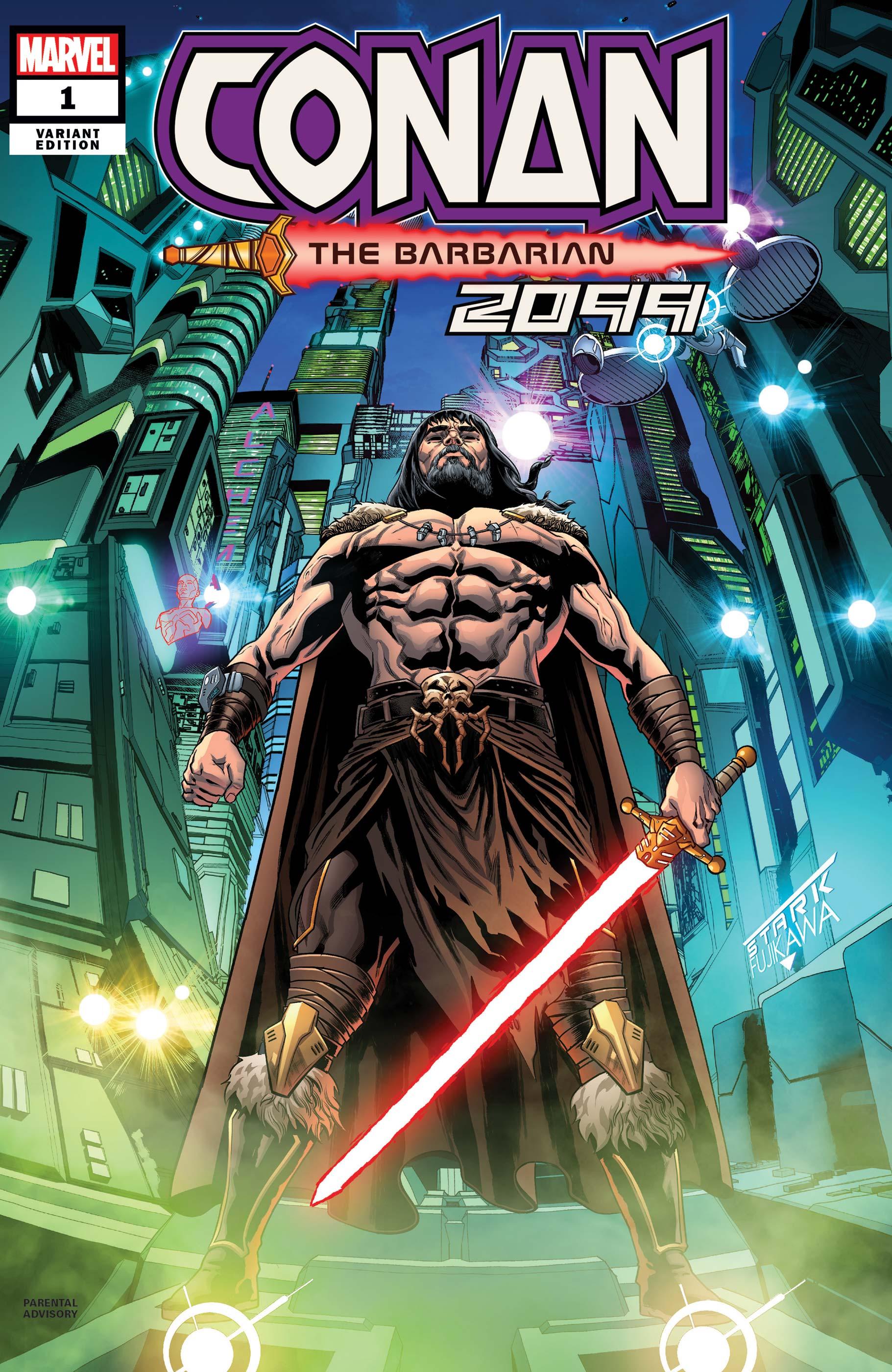 Conan 2099 (2019) #1 (Variant)