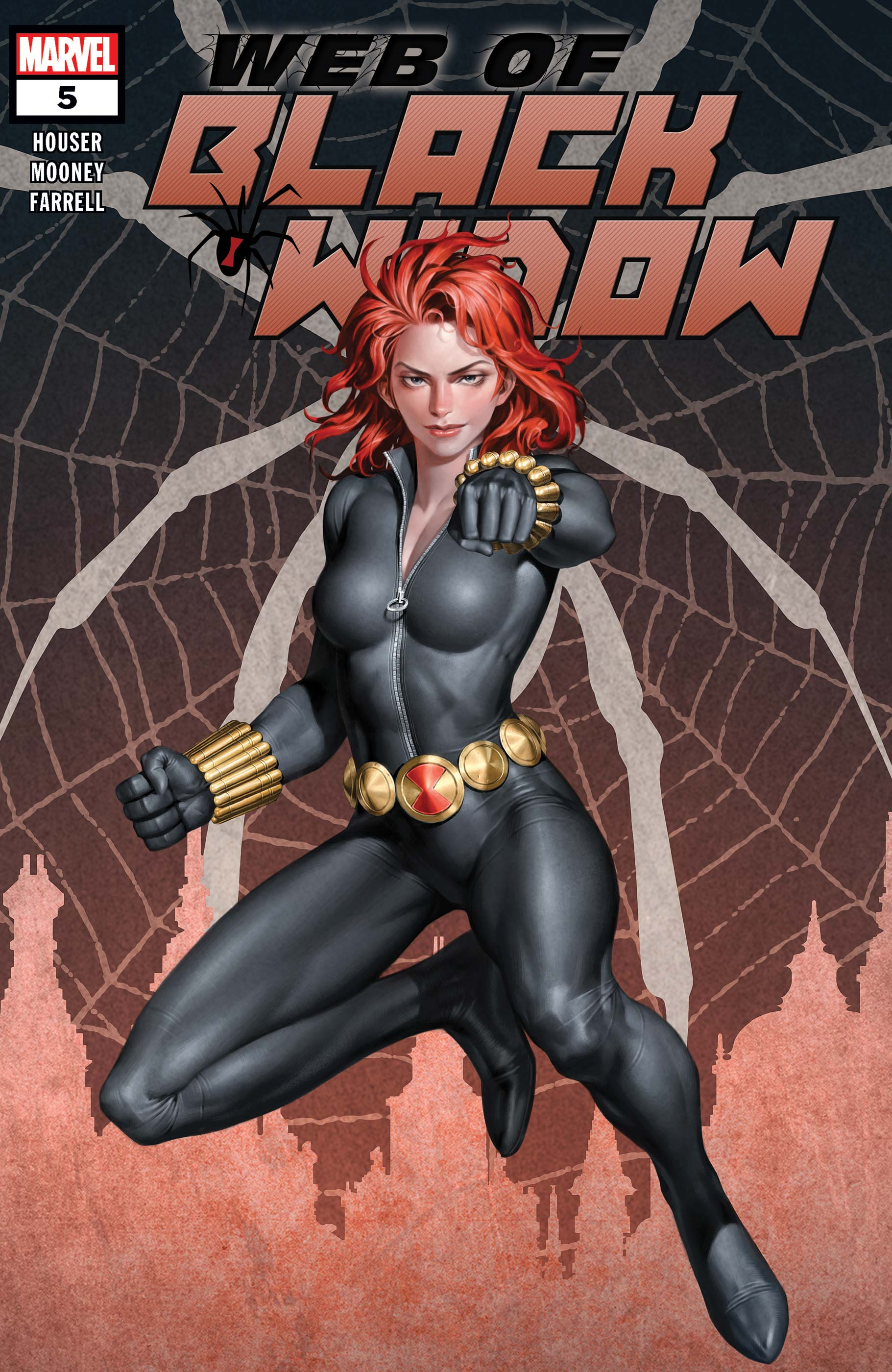 The Web of Black Widow (2019) #5