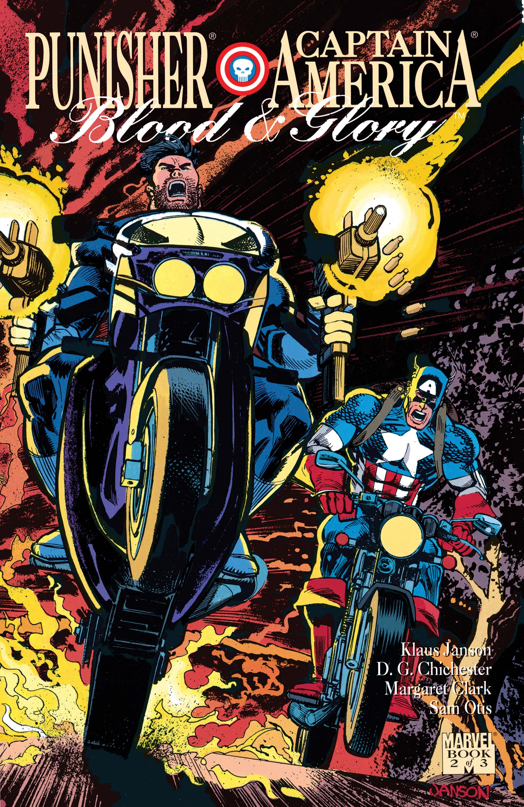 Punisher/Captain America: Blood and Glory (1992) #2