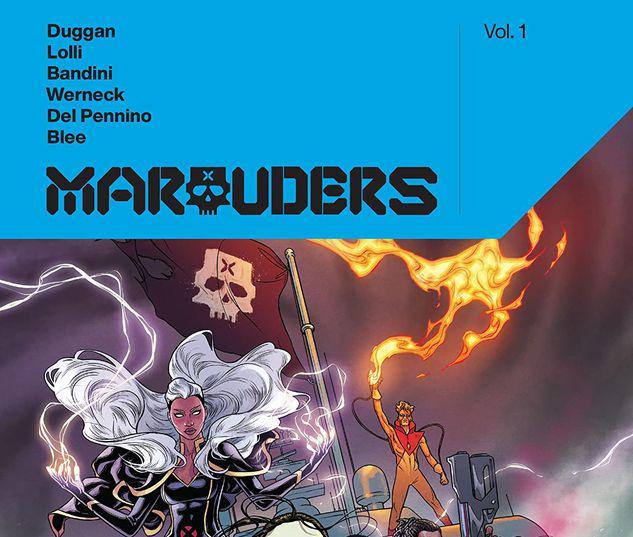MARAUDERS BY GERRY DUGGAN VOL. 1 TPB #1