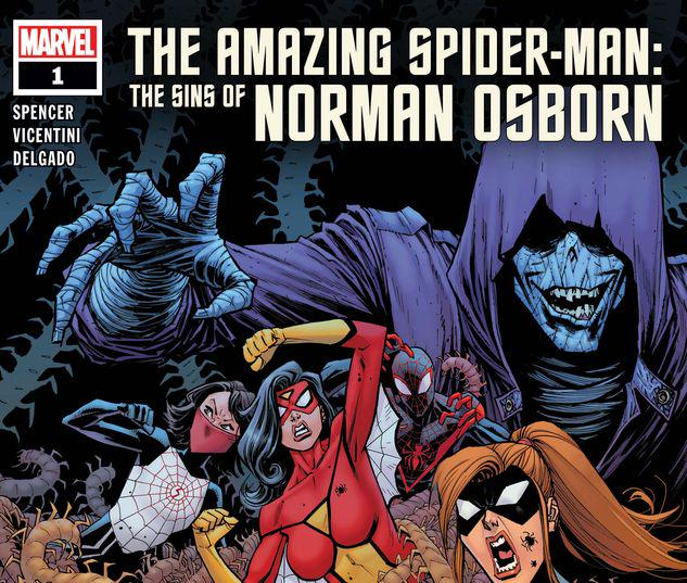 AMAZING SPIDER-MAN: THE SINS OF NORMAN OSBORN 1 #1