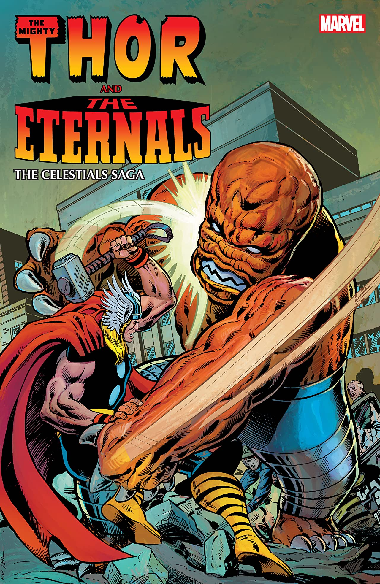 THOR AND THE ETERNALS: THE CELESTIALS SAGA TPB (Trade Paperback)
