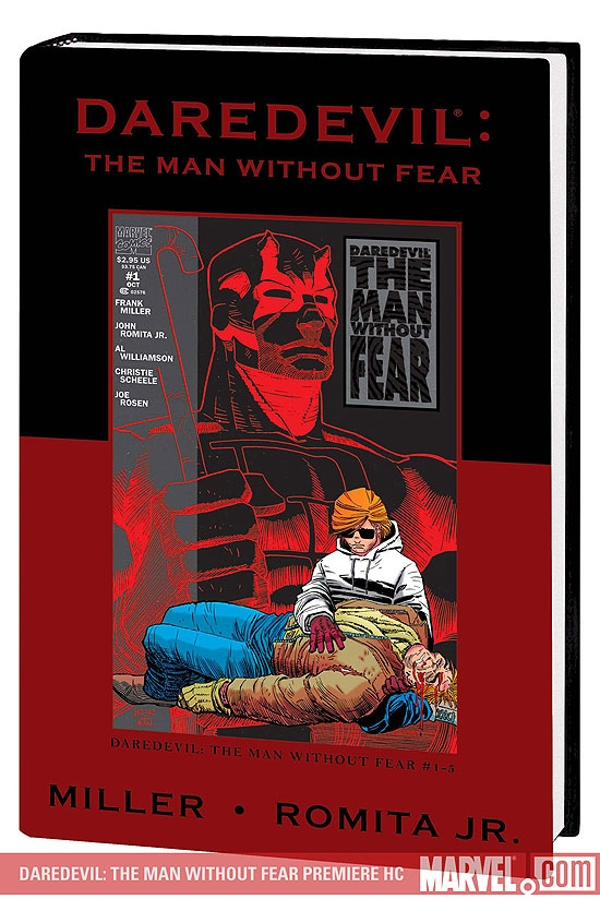 DAREDEVIL: THE MAN WITHOUT FEAR PREMIERE HC [DM ONLY] (Hardcover)