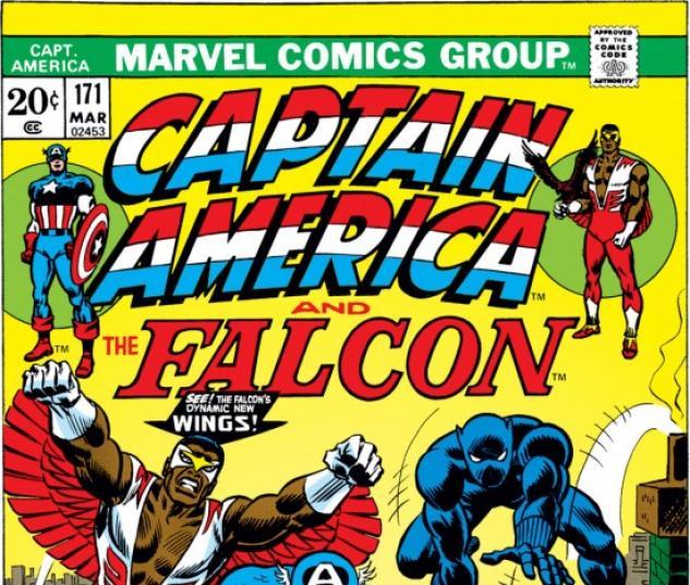 CAPTAIN AMERICA #171 COVER