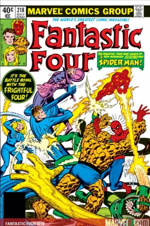 Fantastic Four (1961) #218