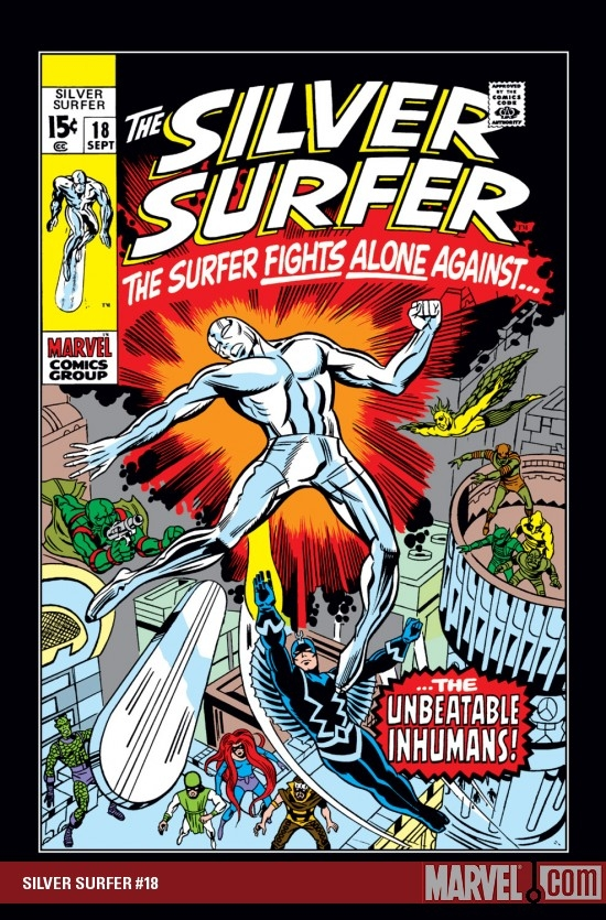 Silver Surfer (1968) #18