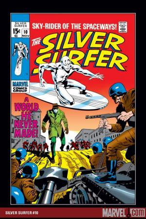 Silver Surfer (1968) #10