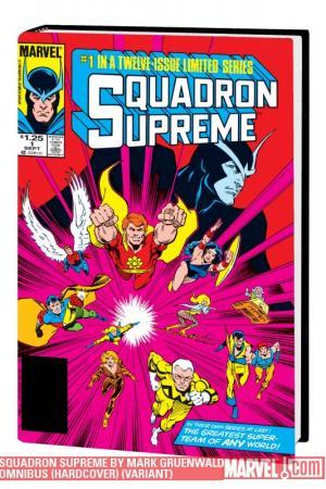 Squadron Supreme by Mark Gruenwald Omnibus (Hardcover)