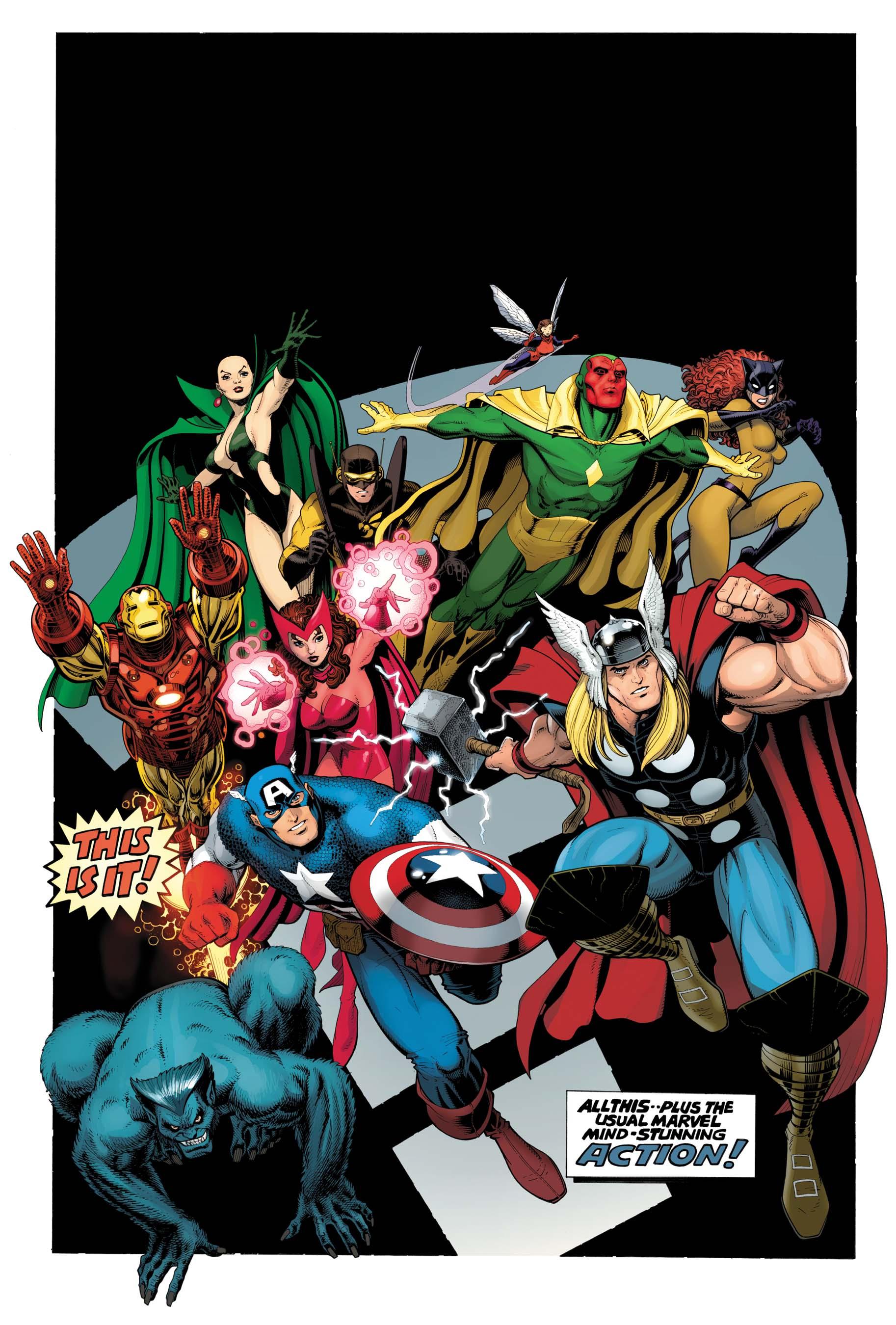 Avengers Assemble (2012) #1 (Adams Variant)
