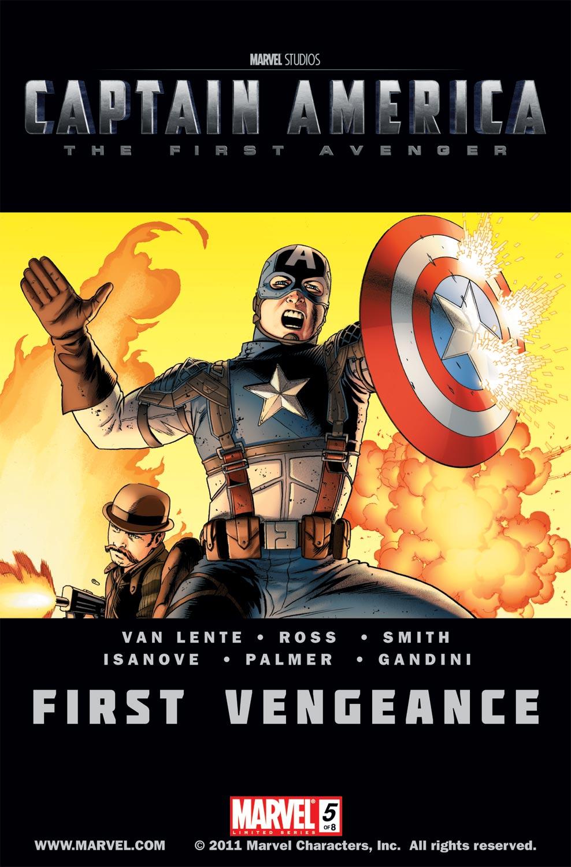 Captain America: First Vengeance (2011) #5