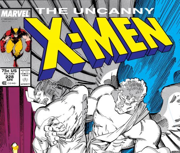 Uncanny X-Men (1963) #228 Cover